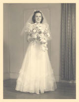 Helen Lantz wedding picture